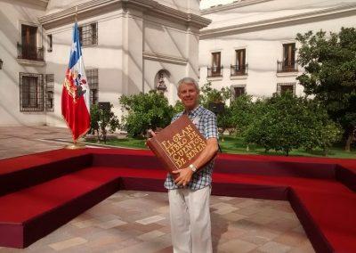 Senén en La Moneda